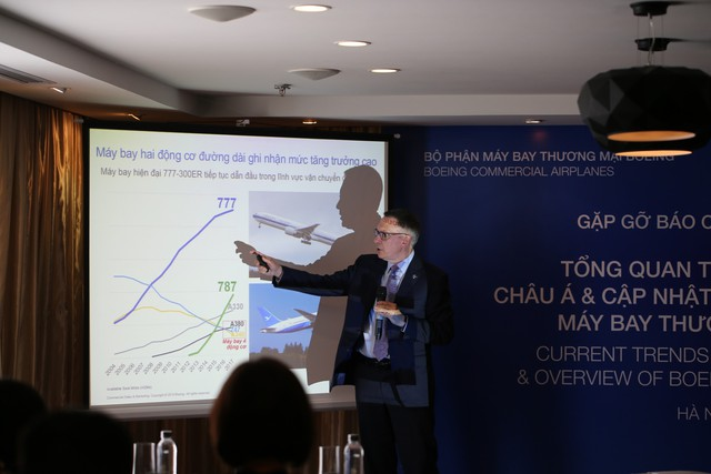 Phó Chủ tịch Boeing: Năm 2018, thị trường hàng không Việt Nam sẽ tăng trưởng ngoạn mục - Ảnh 1.