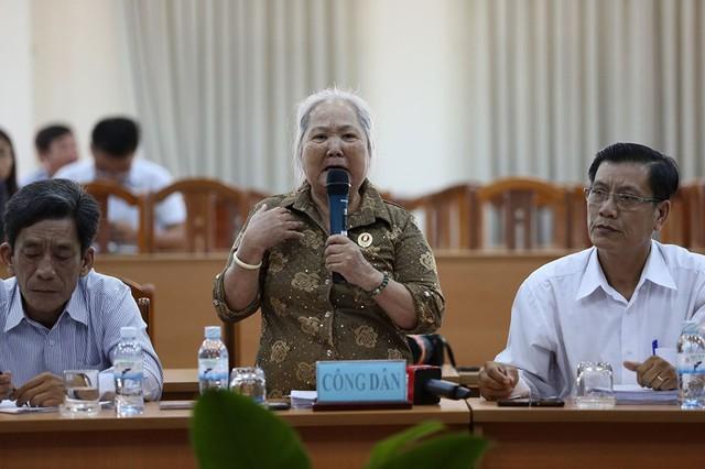 Toàn cảnh lãnh đạo Ban tiếp dân TW và TP.HCM gặp dân Thủ Thiêm - Ảnh 4.