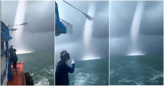 Lý giải hiện tượng vòi rồng khổng lồ xuất hiện ở Sóc Trăng khiến ngư dân hoảng sợ - Ảnh 2.