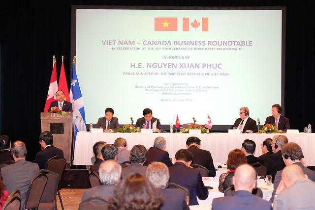 Thủ tướng: Kinh tế Việt Nam - Canada bổ trợ cho nhau hơn là cạnh tranh - Ảnh 1.