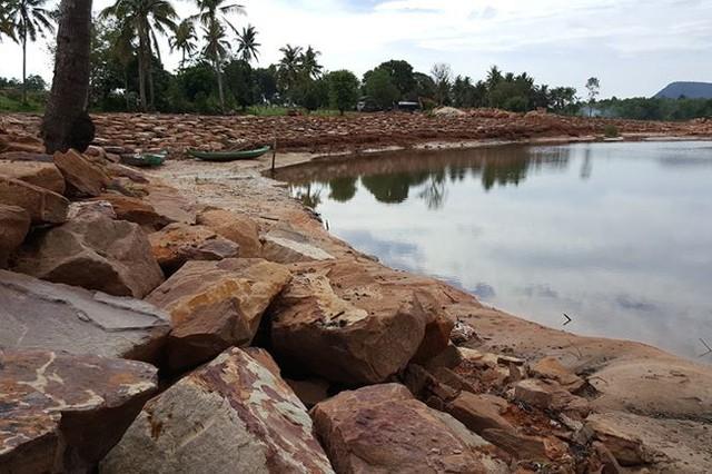 Phú Quốc sau đất đai bị băm nát đến lượt một số sông bị bức tử - Ảnh 9.