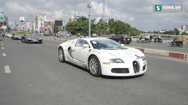 Bugatti Veyron của ông Đặng Lê Nguyên Vũ có thể phải để xe tải cõng qua đường xấu - Ảnh 2.