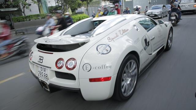 Bugatti Veyron của ông Đặng Lê Nguyên Vũ có thể phải để xe tải cõng qua đường xấu - Ảnh 3.