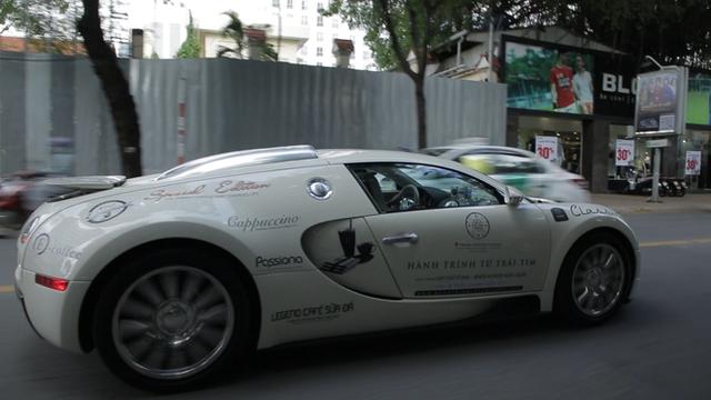 Bugatti Veyron của ông Đặng Lê Nguyên Vũ có thể phải để xe tải cõng qua đường xấu - Ảnh 4.