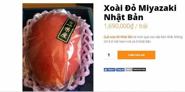 Xoài đỏ Nhật Bản đắt đỏ nhất thế giới, giá 2,5 triệu/quả vẫn cháy hàng ở Việt Nam - Ảnh 3.