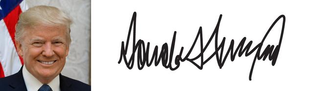 Có gì đặc biệt trong chữ ký của các Tổng thống Mỹ: Chữ ký của ông Trump thể hiện con người có cá tính rất mạnh - Ảnh 44.