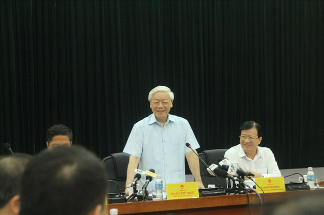 Tổng Bí thư Nguyễn Phú Trọng: Báo cáo của Bộ Công Thương cần làm rõ 4 vấn đề quan trọng - Ảnh 1.