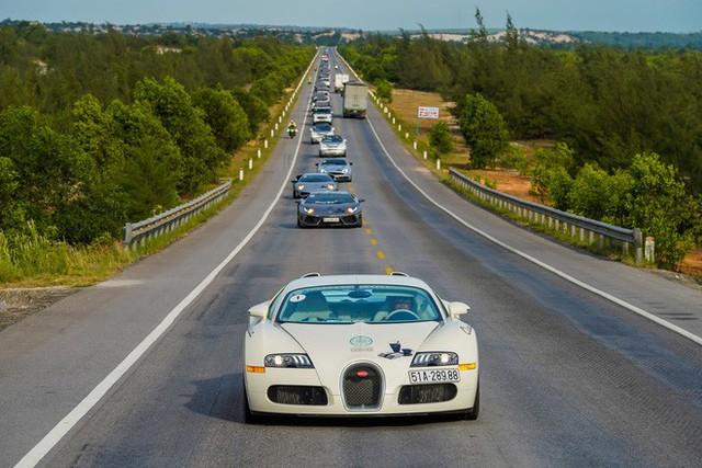 Bugatti của ông Đặng Lê Nguyên Vũ đã trèo đèo, vượt hàng ngàn km từ TPHCM ra tới Hà Nội như thế nào? - Ảnh 1.