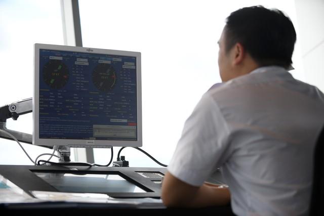 Toàn cảnh cảng hàng không quốc tế Vân Đồn trong ngày đón chuyến bay hiệu chuẩn đầu tiên - Ảnh 9.