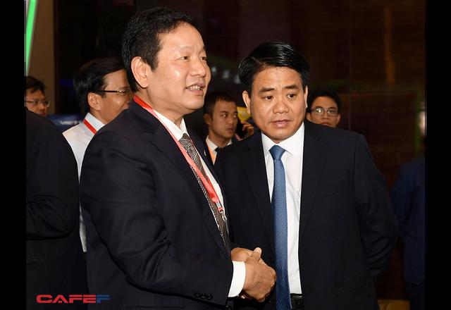 Chùm ảnh: Thủ tướng, lãnh đạo cấp cao và các doanh nghiệp lớn tham dự Triển lãm quốc tế về công nghiệp 4.0 - Ảnh 11.