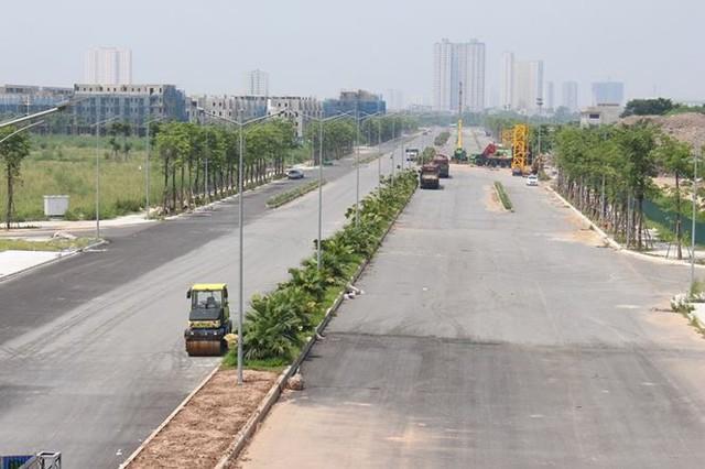 Đường BT nghìn tỷ Hà Nội quây rào để cỏ mọc  - Ảnh 1.