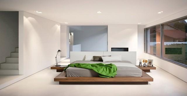 Phòng ngủ trang trí tối giản mà vẫn đẹp tiên tiến - Ảnh 12.