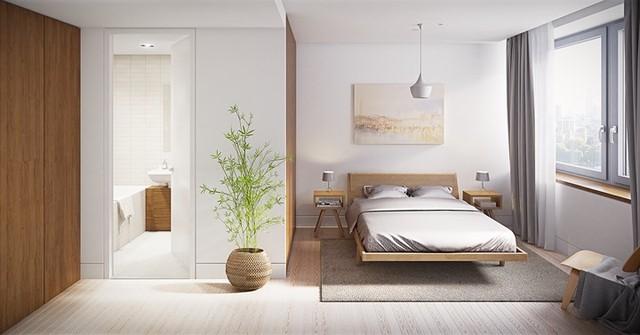 Phòng ngủ trang trí tối giản mà vẫn đẹp hiện đại - Ảnh 3.