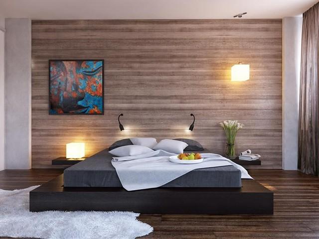 Phòng ngủ trang trí tối giản mà vẫn đẹp hiện đại - Ảnh 5.
