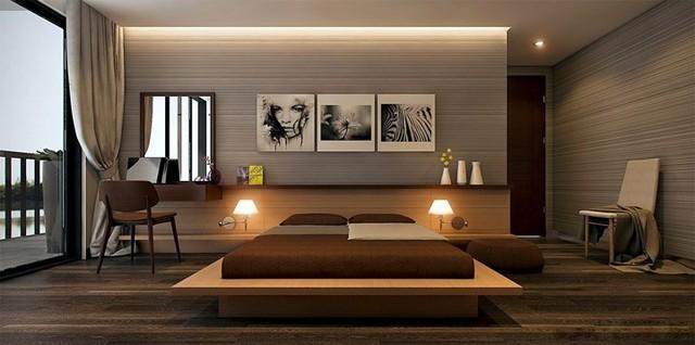 Phòng ngủ trang trí tối giản mà vẫn đẹp hiện đại - Ảnh 6.