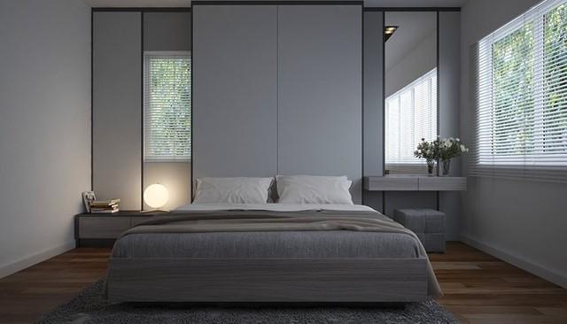 Phòng ngủ trang trí tối giản mà vẫn đẹp hiện đại - Ảnh 10.