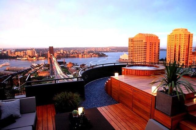 Ý tưởng thiết kế vườn trên sân thượng tuyệt đẹp - Ảnh 2.