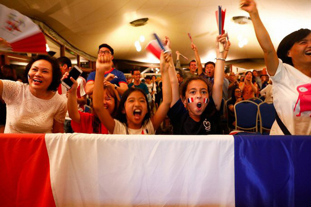 Cà phê, quán nhậu hốt bạc trận chung kết World Cup 2018, lãi gấp 5 lần ngày thường - Ảnh 3.