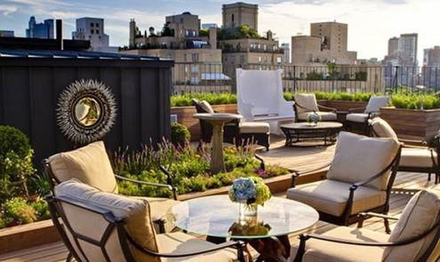 Ý tưởng thiết kế vườn trên sân thượng tuyệt đẹp - Ảnh 3.