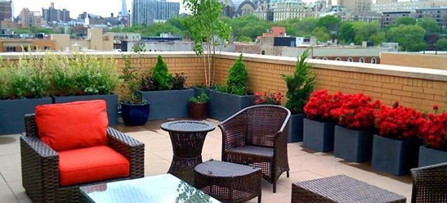 Ý tưởng thiết kế vườn trên sân thượng tuyệt đẹp - Ảnh 7.