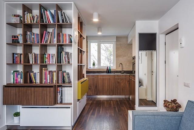 Cách trang trí nhẹ nhàng, hấp dẫn trong căn hộ chung cư 1 phòng ngủ - Ảnh 5.