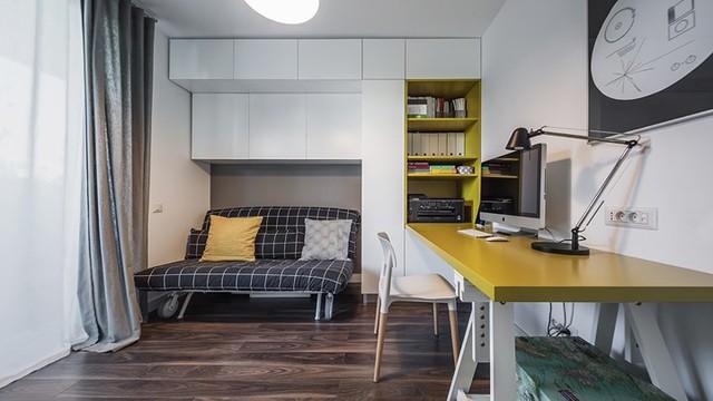 Cách trang trí nhẹ nhàng, hấp dẫn trong căn hộ chung cư 1 phòng ngủ - Ảnh 8.
