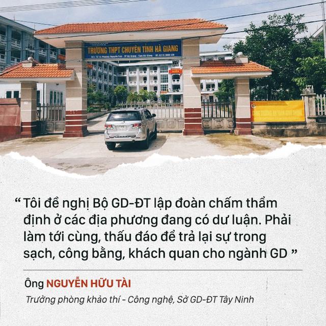 Bí thư Hà Giang Triệu Tài Vinh: Không việc gì tôi phải đi xin điểm - Ảnh 1.
