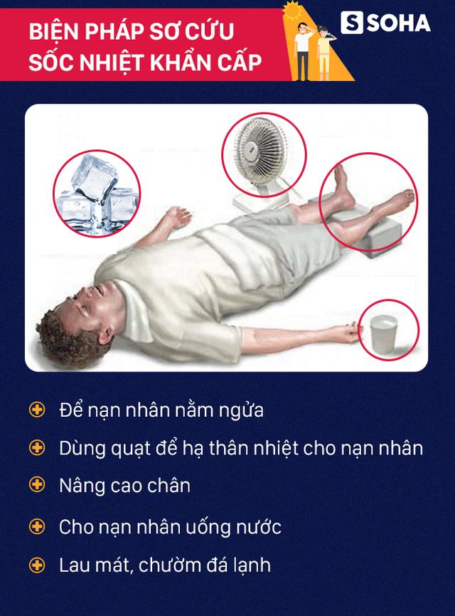 [PHOTO STORY] Nhiều người đã đột tử vì nắng nóng: Bất kể bạn làm nghề gì, chớ coi thường! - Ảnh 2.