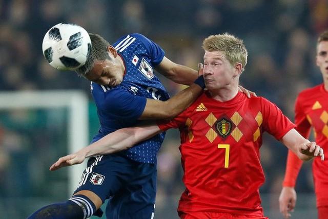 Nhật Bản không có cửa thắng tuyển Bỉ - Ảnh 1.