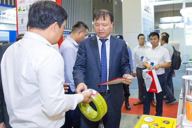 Gelex Electric tham gia triển lãm về công nghệ và thiết bị điện với nhiều sản phẩm mới - Ảnh 1.
