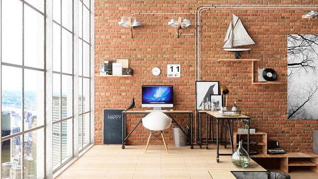 Ý tưởng trang trí phòng làm việc tại nhà hiện đại, phong cách - Ảnh 1.