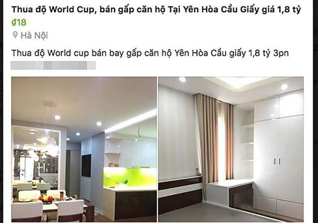 Hết World Cup, cảnh giác trước các chiêu trò bán hàng thanh lý - Ảnh 1.