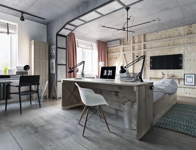 Ý tưởng trang trí phòng làm việc ở nhà hiện đại, phong cách - Ảnh 8.