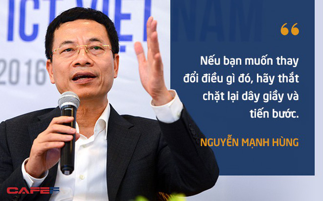 10 phát ngôn truyền cảm hứng của ông Nguyễn Mạnh Hùng dành cho giới trẻ - Ảnh 5.