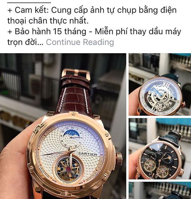 Đồng hồ hàng hiệu Omega, Rolex bán như… bán rau  - Ảnh 1.