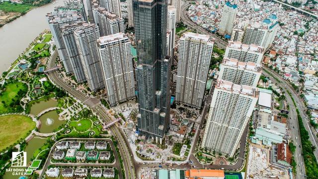 Cận cảnh tòa nhà cao nhất Việt Nam chuẩn bị khai trương trung tâm thương mại Vincom Center Landmark 81 - Ảnh 4.