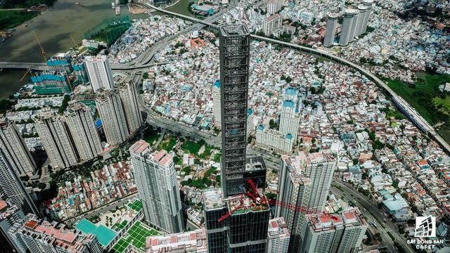 Cận cảnh tòa nhà cao nhất Việt Nam chuẩn bị khai trương trung tâm thương mại Vincom Center Landmark 81 - Ảnh 3.