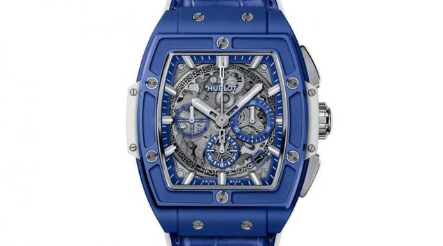 Chiêm ngưỡng đồng hồ Hublot Spirit of Big Bang Blue với sắc xanh thu hút của Địa Trung Hải, cả thế giới chỉ có 100 chiếc - Ảnh 1.
