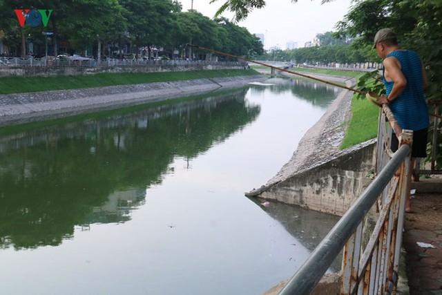 """Sông Tô Lịch """"hồi sinh"""" sau những ngày Hà Nội mưa lớn - Ảnh 8."""