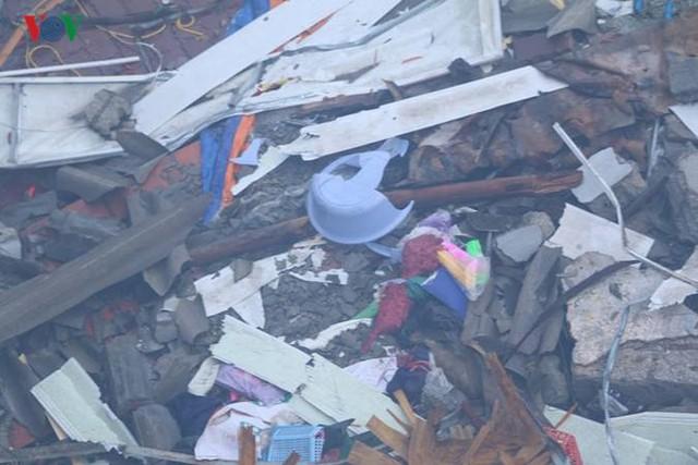 Chợ Gạo ở Hưng Yên tan hoang, đổ nát sau vụ cháy kinh hoàng - Ảnh 12.