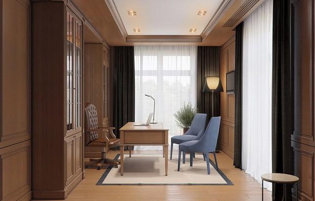 Mẫu thiết kế nhà 2 tầng đẹp hiện đại, sang trọng - Ảnh 8.