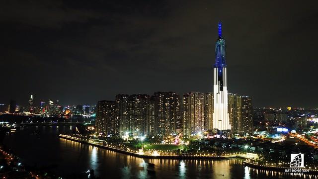 Tòa nhà cao nhất Việt Nam lung linh về đêm giữa Sài Gòn xa hoa - Ảnh 8.