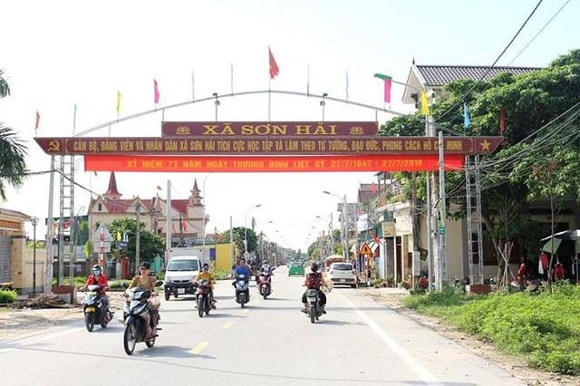 Phiên đấu giá đất lịch sử tại xã miền biển Nghệ An - Ảnh 1.