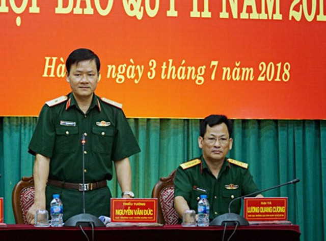 Bộ Quốc phòng khẳng định chưa có việc Thượng tướng Phương Minh Hòa bị bắt - Ảnh 1.