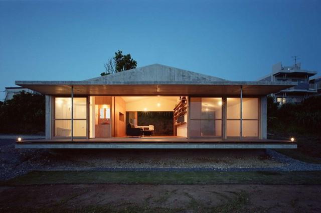 Ngôi nhà ở Nhật có thiết kế mở, gần gũi với thiên nhiên - Ảnh 10.