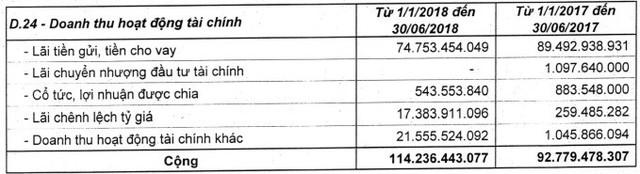 Vinaconex (VCG): Giá vốn tăng cao, LNST 6 tháng giảm gần một nửa so với cùng kỳ - Ảnh 2.