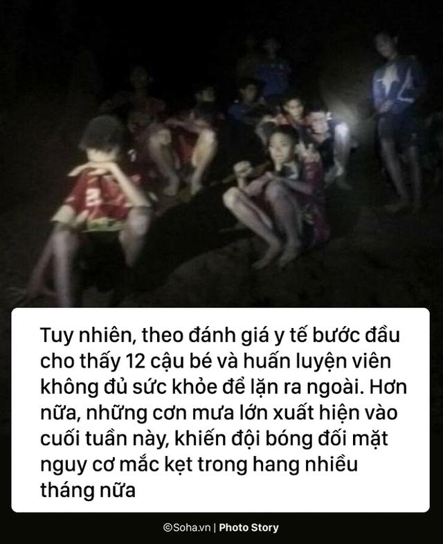 Những hiểm họa đáng sợ nào rình rập đội bóng Thái Lan bên ngoài cửa hang? - Ảnh 2.
