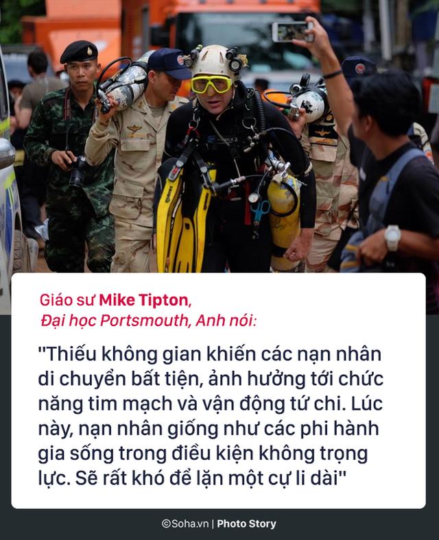 Những hiểm họa đáng sợ nào rình rập đội bóng Thái Lan bên ngoài cửa hang? - Ảnh 7.