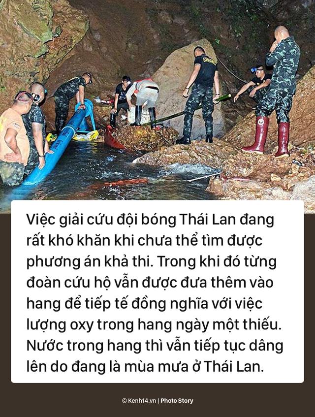 Những khó khăn chồng chất trong suốt nửa tháng giải cứu đội bóng Thái Lan - Ảnh 2.