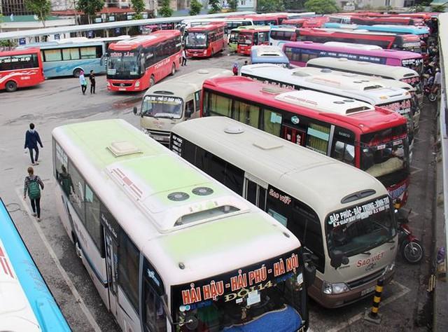 Điều chỉnh lộ trình xe khách từ 9 tỉnh đi và đến Hà Nội  - Ảnh 1.